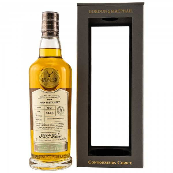 Jura 28 Jahre 1991/2019 Gordon & MacPhail Scotch Whisky 53% vol 0,7 L