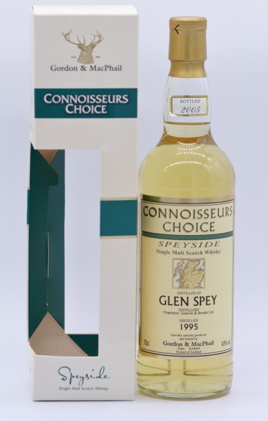 Glen Spey 1995/2005 Gordon & MacPhail - Single Malt Whisky - 43%vol - 0,7 L