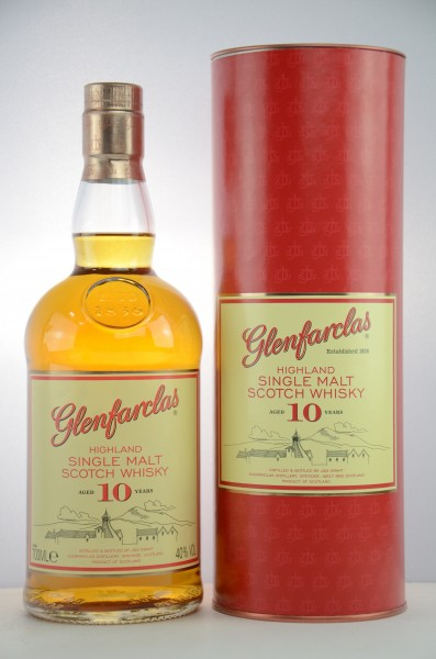 Glenfarclas 10 Jahre Speyside Single Malt Scotch Whisky 40% vol 0,7 L