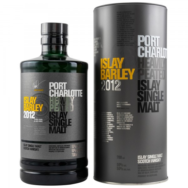 Port Charlotte Islay Barley 6 Jahre Single Malt Scotch Whisky 50%vol 0,7 L