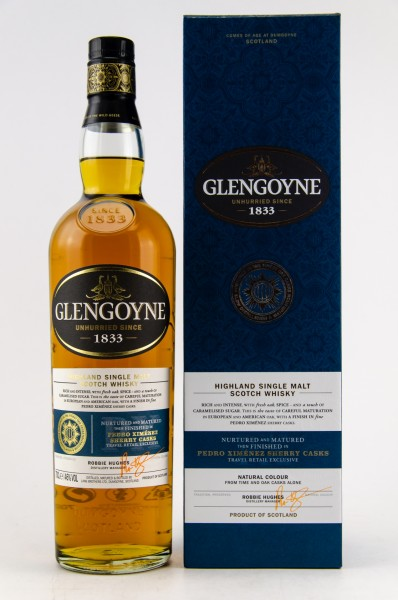 Glengoyne PX Sherry Cask Finish Single Malt Scotch Whisky 46% vol 0,7 L