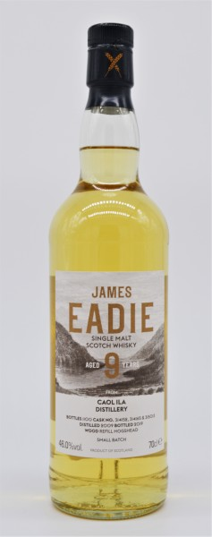 Caol Ila 2009/2019 James Eadie - Single Malt Scotch Whisky - 46%vol 0,7L