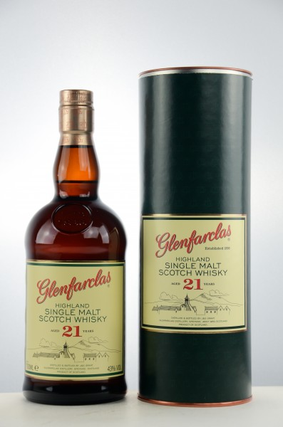 Glenfarclas 21 Jahre Speyside Single Malt Scotch Whisky 43% vol 0,7 L
