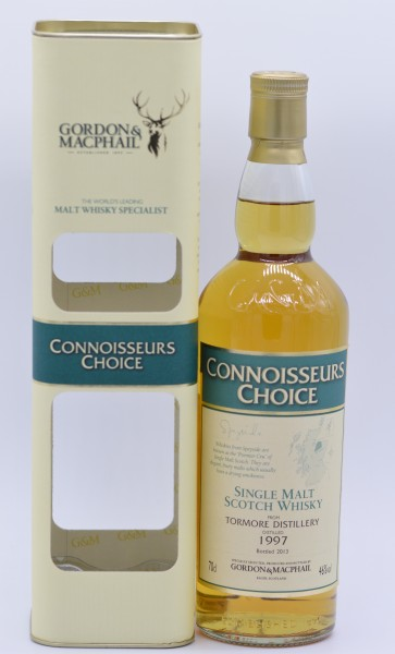 Tormore 1997/2013 Gordon & MacPhail - Single Malt Whisky - 46%vol - 0,7 L