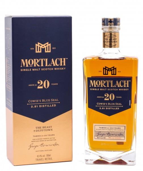 Mortlach 20 Jahre Single Malt Whisky 43,4% vol 0,7L