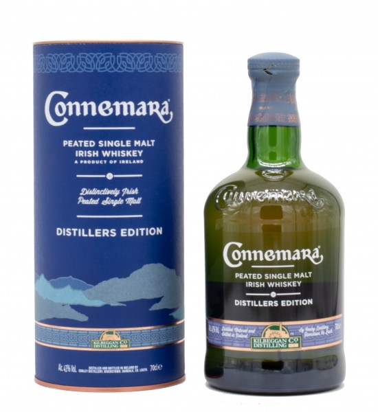 Connemara Distillers Edition Irish Single Malt Whiskey 43% vol 0,7 L