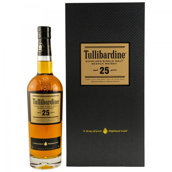 Tullibardine 25 Jahre Single Single Malt Scotch Whisky 43% vol 0,7 L