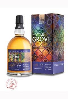 Nectar Grove Limited Edition Blended Malt Scotch Whisky 54%vol - 0,7L