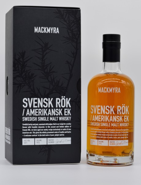 Mackmyra Svens Rök Swedish Single Malt Whisky 46,1%vol 0,7L