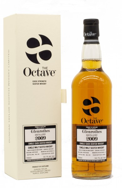 Glenrothes 2009/2019 The Octave Single Cask Scotch Whisky 54,1% vol 0,7L