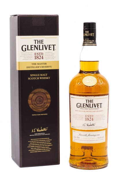 Glenlivet The Master Distiller´s Reserve Single Malt Scotch Whisky 40%vol 1L