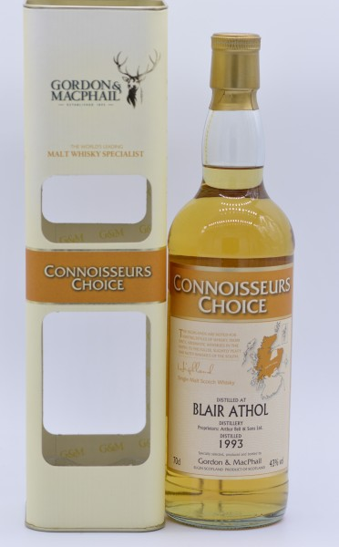 Blair Athol 1993/2008 - Gordon & MacPhail - Single Malt Whisky - 43%vol - 0,7 L