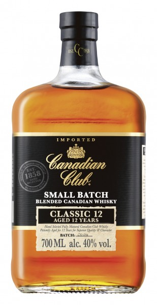 Canadian Club 12 Jahre - Blended Canadian Whisky - 40% vol - 0,7 L