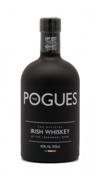 The Pogues The Official Irish Whiskey of the Legendary Band Irish Whiskey 40% 0,7L