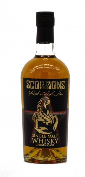 Mackmyra Scorpions Swedish Single Malt Whisky 40% 0,7 L
